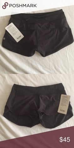 Lululemon Speed Short Black speed short, new with tags lululemon athletica Other