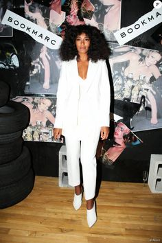 "Solange Knowles assiste à la soirée de sortie du livre ""GLOSS: The Work of Chris Von Wangenheim"" au Tunnel. New York, le 10 septembre 2015."