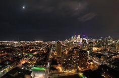 Toronto and the Moon