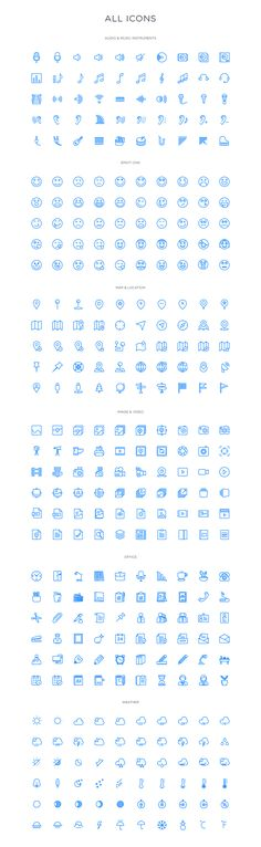 Squid Ink Icons Process on Behance