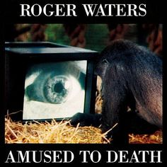Roger Waters, Amused To Death****: For me, this is the first Waters album that actually sounds like a Waters album and not a potential Pink Floyd album. Sure, Pink Floyd could have made this (with all members), but I think that might have detracted from the effort. I'm not sure Gilmour could have contributed to the music here. That being said, this is the best of Waters' solo efforts. 11/19/14