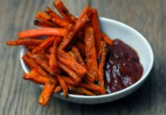Carrot French Fries Recipe http://www.thepaleodietrecipecookbook.com/carrot-french-fries