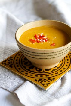 Butternut pumpkin soup - swedish | Pumpasoppa | Vegoriket