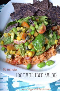 Edamame Taco Salad