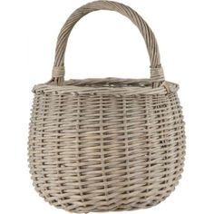 Korb rund, mittel Style Retro, Wicker Baskets, Decoration, Simple, Unique, Vintage, Inspiration, Basket Braid, Braid