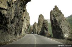Iran - Karaj - Chaloos-Road