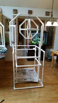Image result for pvc parrot stands