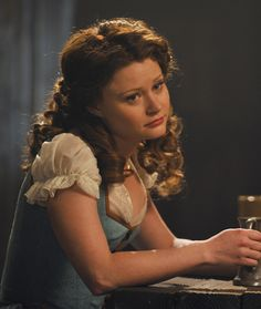 """Big news, """"Once Upon a Time"""" fans - Emilie de Ravin, Storybrooke and Fairytale Land's resident Belle of the ball, is going to be a series regular for Season 2"""