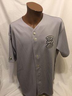 Majestic XM SATELLITE RADIO Promo Baseball Jersey 2XL Rare Promotional #Majestic #Jerseys