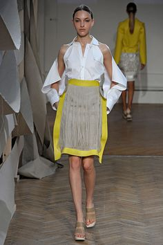 """palmer//harding SS16 #LFW """"And the LORD said to Moses, """"Go to the people and consecrate them today and tomorrow. Have them wash their clothes."""" Exodus 19:10"""