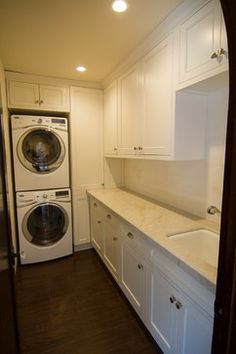 Santa Monica - traditional - laundry room - los angeles - Tesserae Interior Design