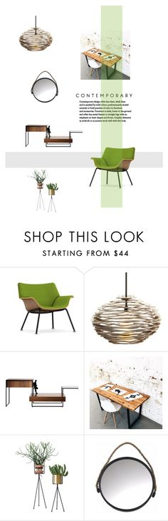 """""""Untitled #816"""" by lulubelle1972 on Polyvore featuring interior, interiors, interior design, home, home decor, interior decorating, Herman Miller, Arteriors, Holly's House and polyvorecommunity"""