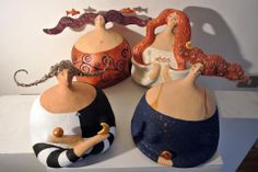 1 million+ Stunning Free Images to Use Anywhere Paper Clay Art, Paper Mache Clay, Paper Mache Sculpture, Paper Mache Crafts, Paper Dolls, Art Dolls, Pottery Angels, Fat Art, Ceramic Figures