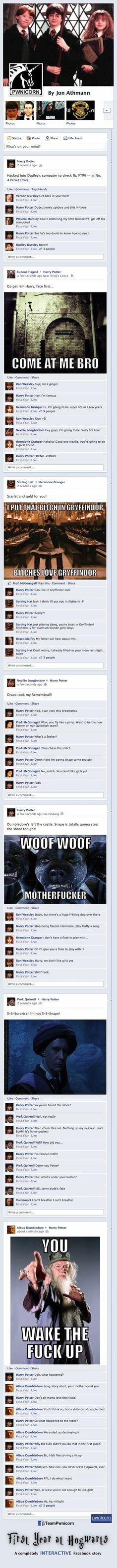 Harry Potter on FB
