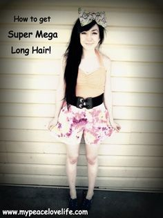 How to get Super Mega Long Hair (scheduled via http://www.tailwindapp.com?utm_source=pinterest&utm_medium=twpin&utm_content=post24586720&utm_campaign=scheduler_attribution)