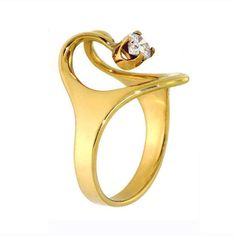 unique wedding rings for women | Wedding Jewels - The ISIS Unique Engagement Ring is an Homage to Women ...