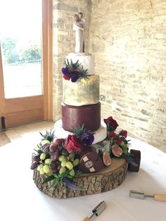 Strawberry Field Catering Cheese Wedding Cake