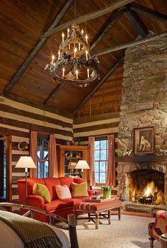 Twin Farms - All Inclusive Vermont Resort and Spa log cabin