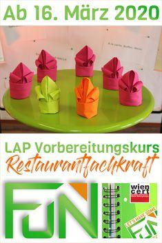 Nächste Woche startet der erste Kurs (LAP Vorbereitungskurs Restaurantfachkraft) - Wir sind bereit und freuen uns jetzt schon auf die Erfolge unserer künftigen Kursteilnehmerinnen und Kursteilnehmer.