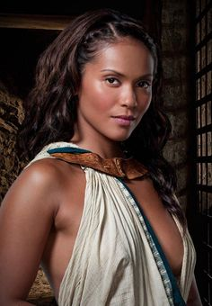 Lesley-Ann Brandt is Naevia in Spartacus: Gods of the Arena Spartacus Women, Spartacus Blood And Sand, Lesley Ann Brandt, Spartacus Characters, Female Characters, Gods Of The Arena, Actresses, Rpg, Warriors