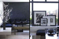 picture frames ... Home-Styling: Celebrity Rooms - Donna Karan