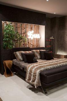Der Garten Eden In Einem Modernen Schlafzimmer Design Wiedergeben Dieses Interessante Projekt Fr Ein