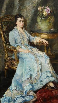 K.E. Makovsky, Portrait of Princess Yurievskaya