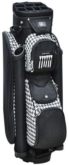 RJ Sports Boutique Womens Houndstooth Golf Bag