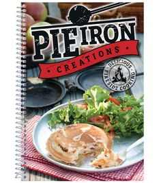 Shop for Pie Iron Creations (Delicious Fireside Cooking). Get free delivery On EVERYTHING* Overstock - Your Online Crafts Shop! Grilling Recipes, Snack Recipes, Cooking Recipes, Snacks, Cooking Dishes, Oven Cooking, Pie Iron Cooking, Mountain Pies, Pie Iron Recipes