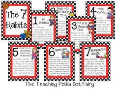 The Teaching Polka Dot Fairy: 7 Habits of Happy Kids