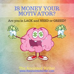 Is money your motivator? Learn how to allow God to be your provider.