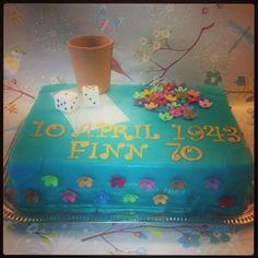 HOLLYS CAKES: 70 Birthday Cake