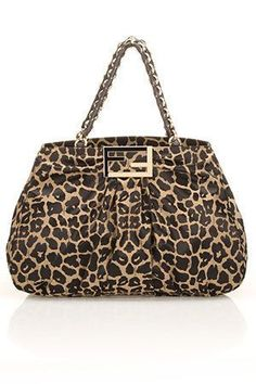 5832a15fc493 Fendi Animal Print Luggage Accessories