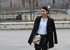 Alison vous parle d'UN basique indispensable LA chemise par excellence : look #casual-#chic
