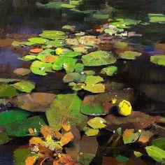Landscape Art, Landscape Paintings, Landscapes, Water Element, Lily Pond, Plant Art, Classical Art, Global Art, Water Lilies
