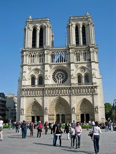 Notre Dame, Paris. I can't wait to see this, and possibly bust out some Disney tune in front of it.