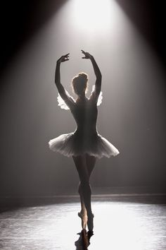 Senior Portrait / Photo / Picture Idea - Girls - Dance / Dancer / Ballet / Ballerina - Stage