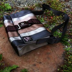 Courier bag made fro