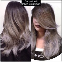 Ash/Grey Ombre by Larisa Doll