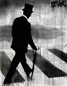 "Saatchi Art Artist Loui Jover; Drawing, ""gent"" #art"