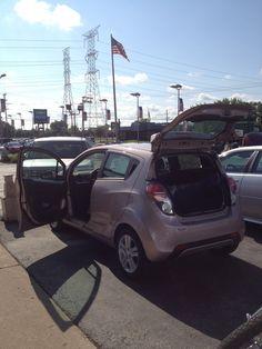 New Techno Pink Chevy Spark!     http://www.chevrolet.com/spark-mini-car.html