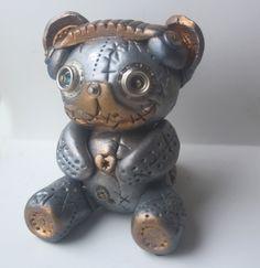 Bear Dj Steampunk Animal by MadeWithLuv.deviantart.com on @deviantART