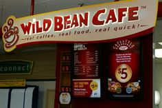 Real Coffee, Coffee Menu, Wild Bean Cafe, Price Board, Real Quick, Digital Signage, Real Food Recipes, Beans, Digital Signature