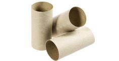 Con tres rollos de papel del baño se pueden hacer a los tres reyes magos con ayuda de dibujos y papel de seda.