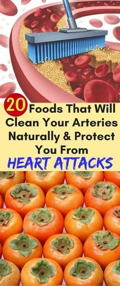20 Foods That Will Clean Your Artheries Naturally And Protect You From Heart Attacks - FHL