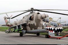 Foto Aeronaves Mil Mi-25