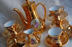 RHEINPFALZ HARTPORZELLAN Germany Stunning Gold by HoneyandBumble, $80.00