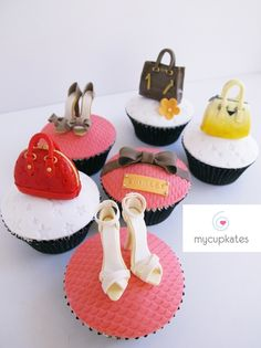 Shoes & Bags Cupcakes (For Ladies)