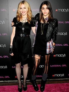 Madonna and daughter Lourdes