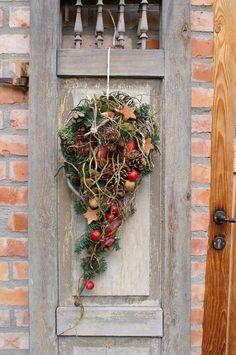 Türkränze - weihnachtlicher Türschmuck / Wandschmuck - ein Designerstück von kleineGartenwerkstatt bei DaWanda